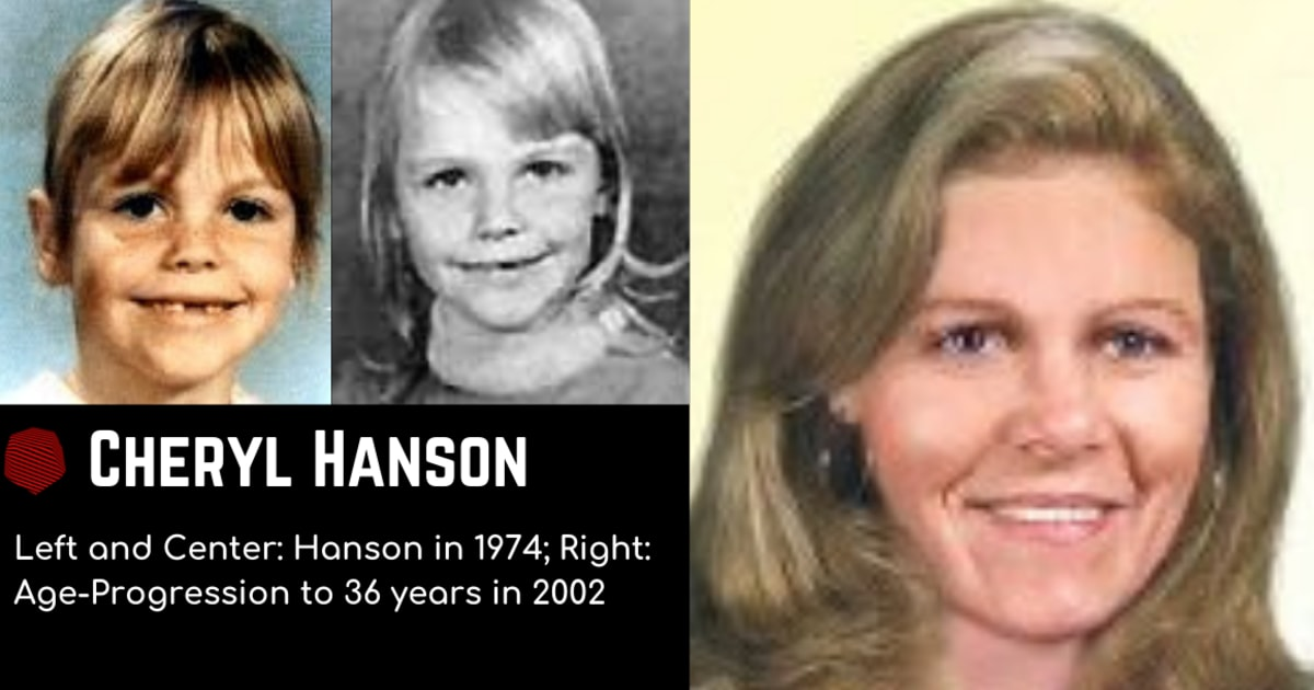 Disappearance of Seven-Year-Old Cheryl Anne Hanson
